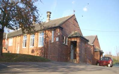 Exterior photo of Lympstone village hall