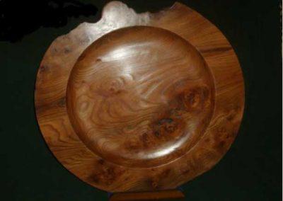 """24"""" diameter Elm Platter"""