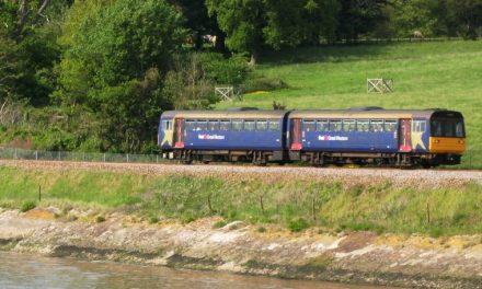 Rail users celebrate