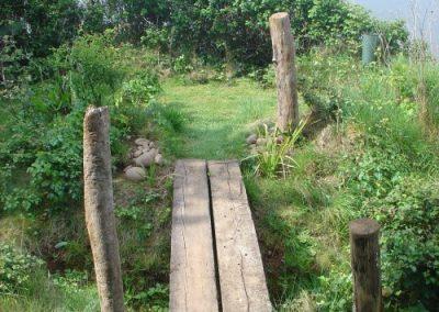 Bridge over the gully