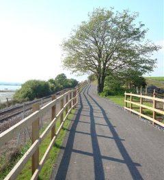 Cycle path campaign progress
