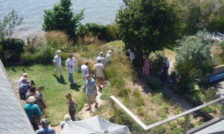 Charity open garden event