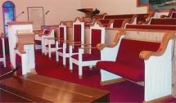 Sale of church furniture