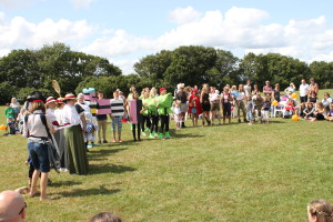 The Fancy Dress Competition 2014