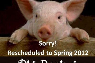 Pig racing postponed