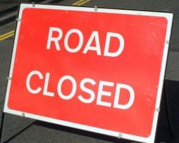 Road Closure 27th Apr to 1st May