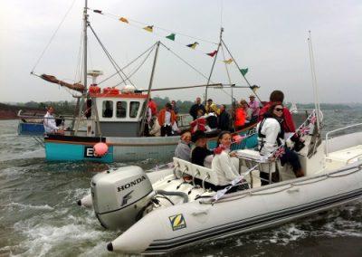 LSC Jubilee sail past