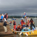 Topsham SC deliver the Olympic Sailing Torch