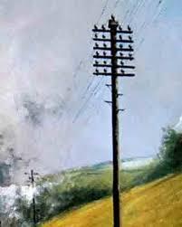 Village Telegraph Poles