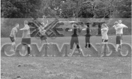 Commando training in Lympstone