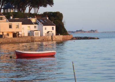High tide, Spring Evening