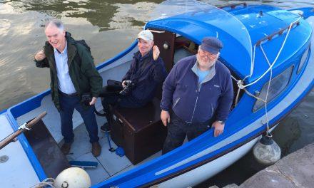 Lympstone Camera Club afloat!