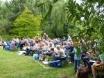 Guests waiting for the start of The Winters Tale