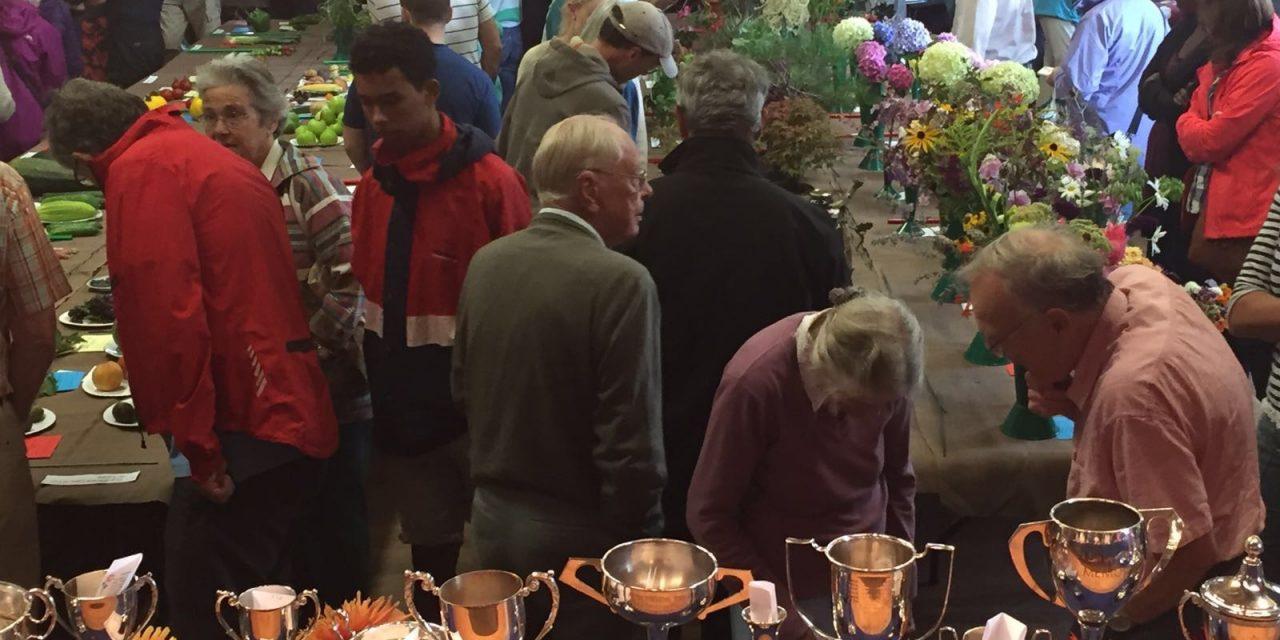 Lympstone Garden Club's 70th Annual Show a major success!