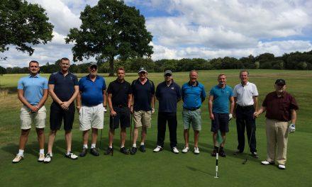 Lympstone Golfers enjoy a round at Woodbury Park Oaks Course