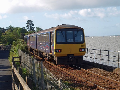 New! Live train departure information from Lympstone Station