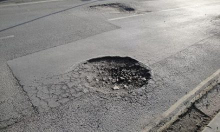 Pothole repair!