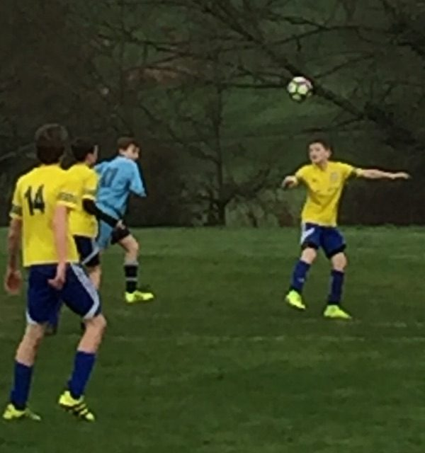 Lympstone Rangers U13s into the Plate Cup semis