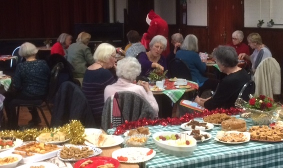 WI report, Christmas Meeting