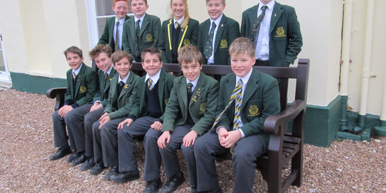 Academic Awards at Exeter School for St Peter's School pupils