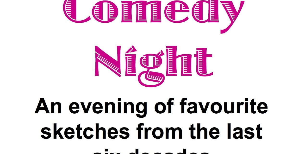 Don't miss the Comedy Night :)