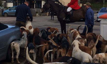East Devon Hunt pays Lympstone a visit