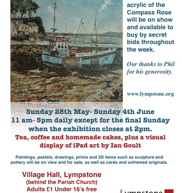 Lympstone's Annual Art Show – coming up!