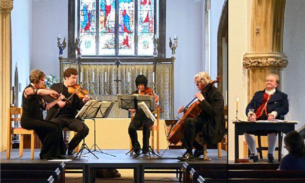 Beethoven's Quartet Journey, The Dante Quartet is back!