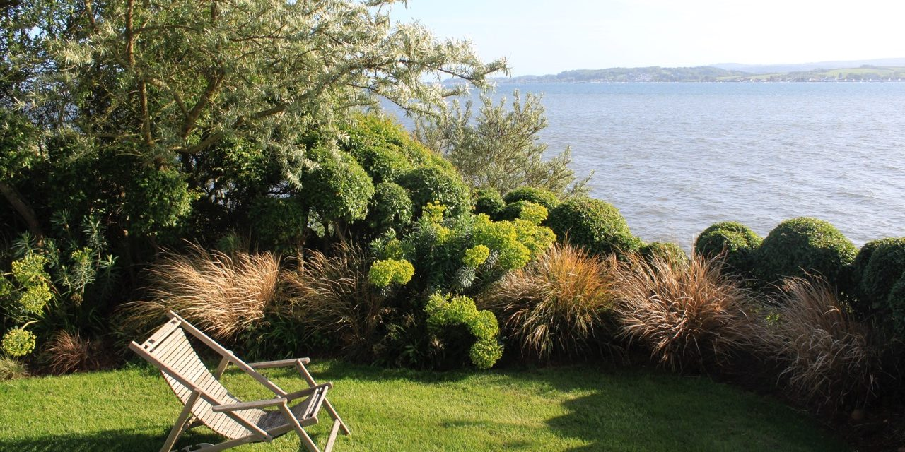 Last Chance! Final NGS opening of Lympstone garden at the The Lookout