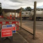 SWW major works underway in Underhill Car Park