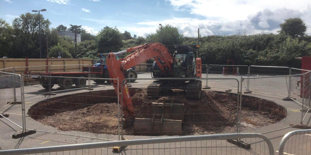 Underhill Car Park/SWW works Update 1