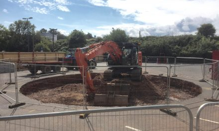 Underhill Car Park/SWW works Update 1