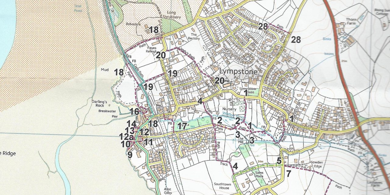Public Rights of Way; Lympstone's Definitive Map Review
