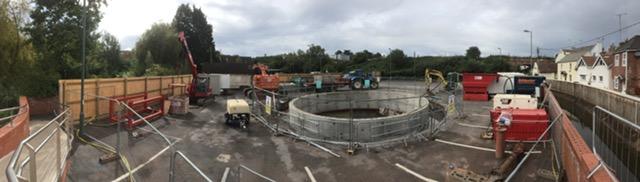 Underhill Car Park, SWW Works Update 2