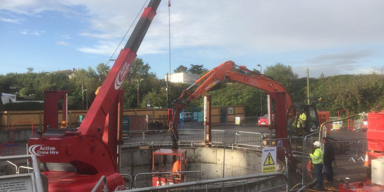 Underhill Car Park, SWW Works Update 3