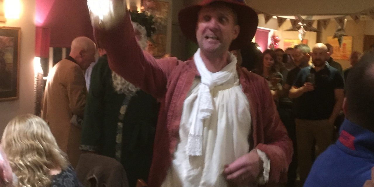 Mummers Tour of Lympstone Pubs