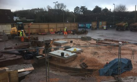 Underhill Car Park, Works Update.