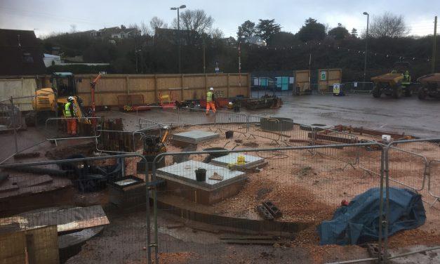 Underhill Car Park, Works Update.