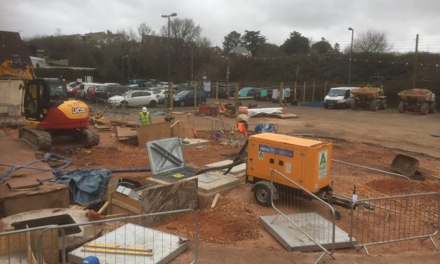 Underhill Car Park, counting the days…