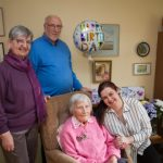 Lympstone's former Red Cross nurse Doris marks 103 years with family