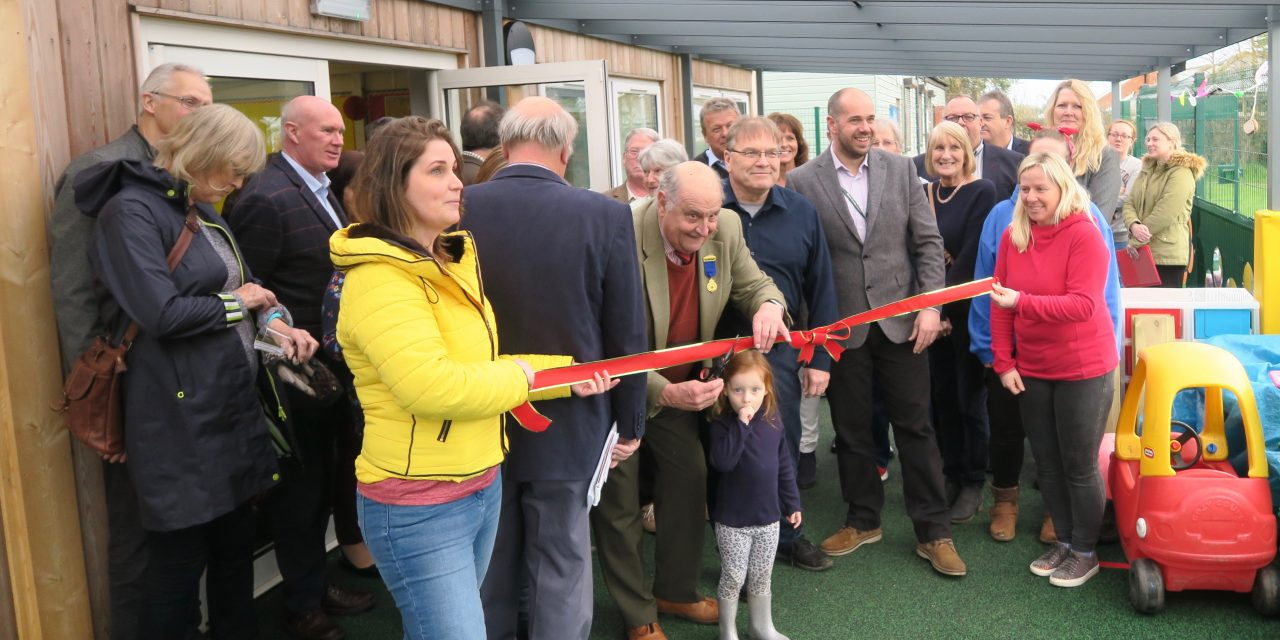 Pre-school official opening
