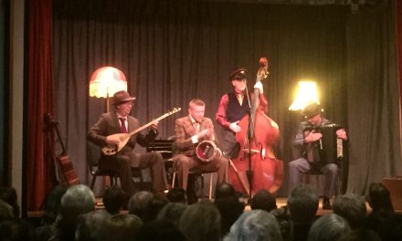 The Budapest Cafe Orchestra; what an evening!