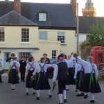 Raddon Hill Clog Morris group visit Lympstone