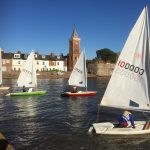 Lympstone Sailing Club; the racing season is well under way