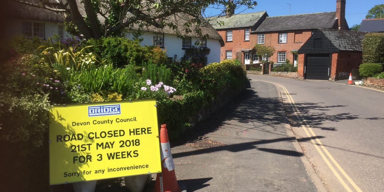 Update on closure of Longmeadow Road at Pretty Corner