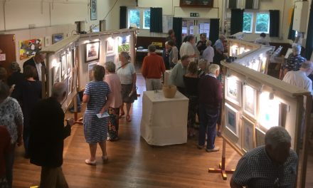 Lympstone's Art Exhibition; better than ever!