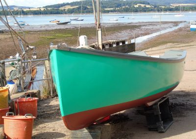 Boat at Lympstone Harbour
