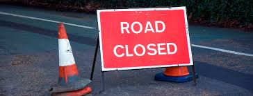 Road Closure – top of Strawberry Hill