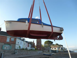 Lympstone Harbour – Delay in Boat Craning 2018