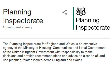 Planning Inspectorate Response …